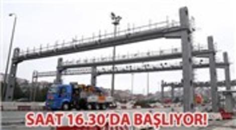 Fatih Sultan Mehmet Köprüsü'nde gişe çalışmaları tamamlandı!