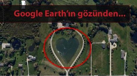 Bu fotoğraflar uydudan görüntülendi!