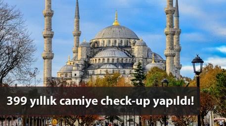 Sultan Ahmet Camisi'nin bir minaresi sorunlu çıktı!
