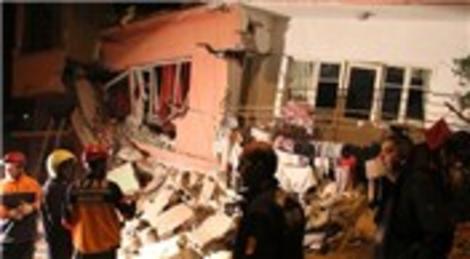 Mersin'de büyük bir gürültü koptu! 1 aile enkazda!