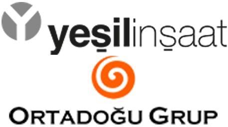 Yeşil İnşaat Ortadoğu Grup logoları