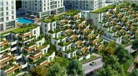 Beyaz 'Bodrum evi' görüntüsü artık İstanbul'da!