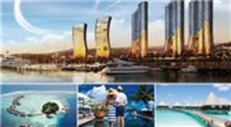 Dap Yapı, İstmarina'dan ev alanları Maldivler'e gönderiyor!