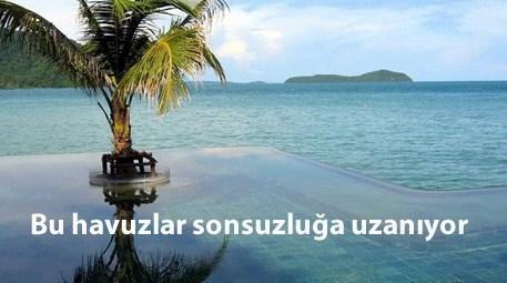 sonsuzluğa uzanan havuzlar