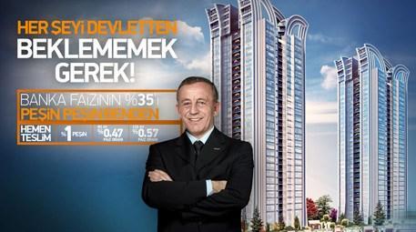 Ali Ağaoğlu, banka faizinin yüzde 35'ini ödeyecek!