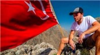 Uçarken içindeki sesleri susturan Türk!