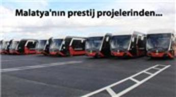 Trambüsler yolcu taşımaya hazırlanıyor!