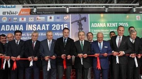 Adana'da inşaat teknolojileri fuarı açıldı