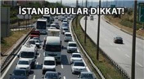 TEM Otoyolu 6 saat trafiğe kapatılıyor!