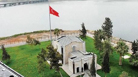 Süleyman Şah Türbesi, yeni yerine taşındı
