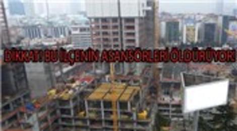 Quasar İstanbul'da asansör boşluğu can aldı!