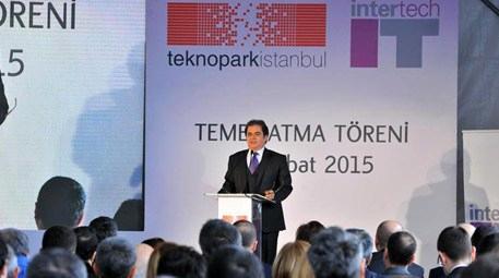 Intertech, Teknopark'taki yeni binasının temelini attı