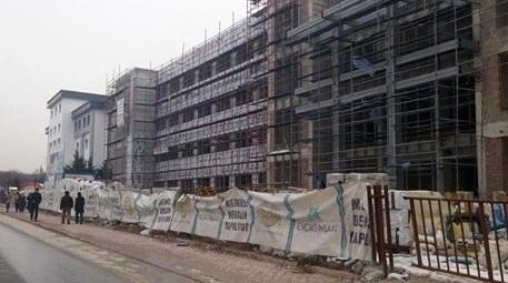 Selçuk Üniversitesi inşaatı