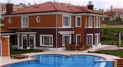 Alkent 2000 Sitesi'nde icradan satılık villa!