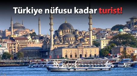 Yabancı, İstanbul'u sevdi!