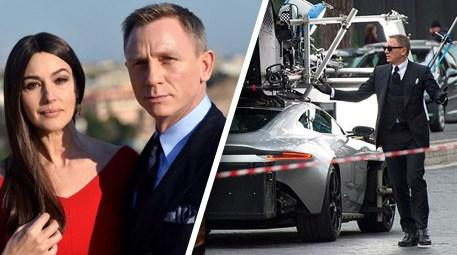 James Bond, Roma'yı yaktı!