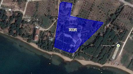 Ziraat Bankası, denize sıfır kamp tesisini satışa çıkardı!