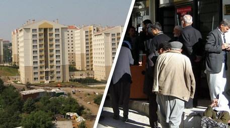 Emekliler, kira öder gibi ev sahibi olacak!