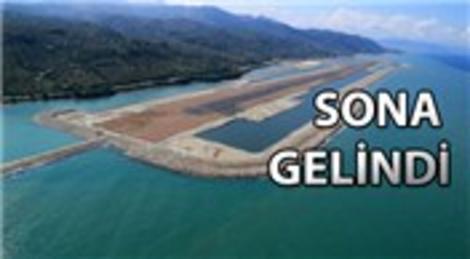 Ordu-Giresun Havalimanı, açılış için gün sayıyor!