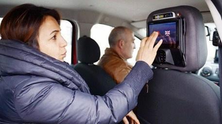 Taksilere panik butonu