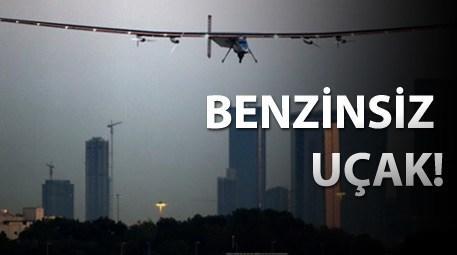 güneş enerjisiyle çalışan uçak