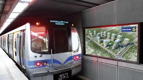Ispartakule'nin metrosu Bizim Evler'e geldi!