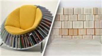 Kitap severlere özel tasarımlar!