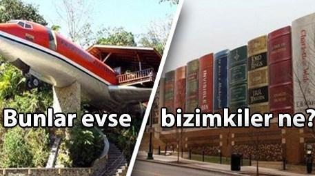 Sınırları zorlayan sıradışı mimariler!