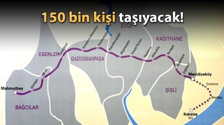 Mahmutbey - Mecidiyeköy Metrosu ne zaman açılıyor?