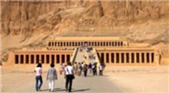 Hatşepsut'un tapınağına ziyaret akını!
