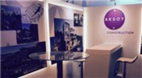 Aksoy İnşaat Fransa'daki MIPIM 2015'te stant açtı!