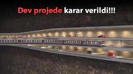 '3 katlı tünel' oy birliğiyle onaylandı