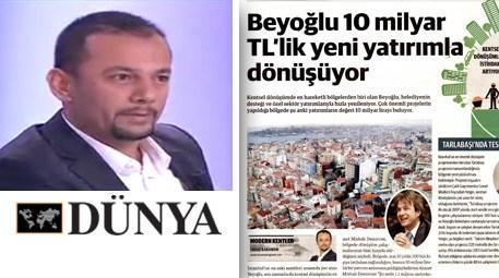 Yavuz Karaman dünya gazetesi
