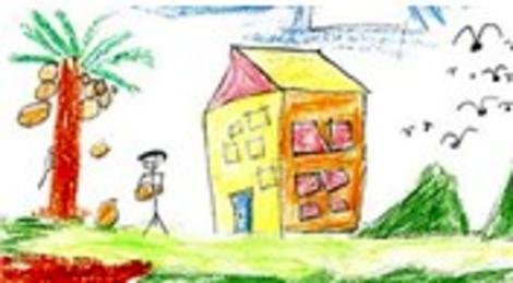 İlkokulda çizilen o bahçeli evle ilgili 10 ilginç tespit!