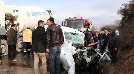 Beykoz araba kazası
