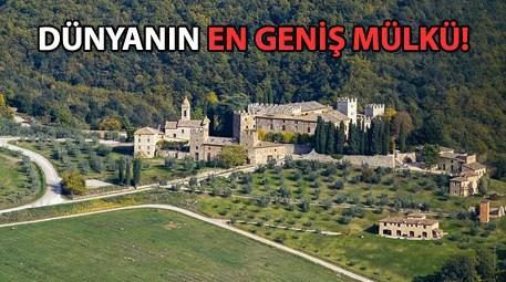 Toskana'daki şato 77 milyon liraya satışta!