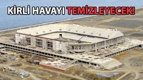 Trabzonspor'un arenası yeni sezona hazır!