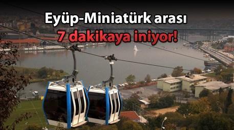 Eyüp Miniatürk teleferik hattı