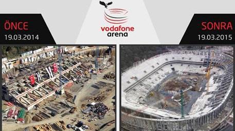 Beşiktaş Vodafone Arena'da bir yılda neler yapıldı?