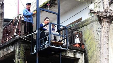 Balkona asansör