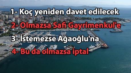 Koç Holding, Kalamış Yat Limanı'ndan vazgeçti!