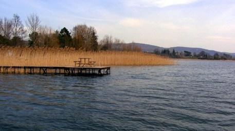 Sapanca Gölü'ndeki su seviyesi arttı!