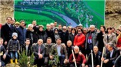 Kalyon'dan 100. yıla özel hatıra ormanı