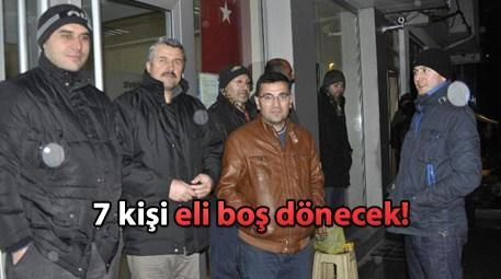 TOKİ konutları için 2 gündür banka önündeler!