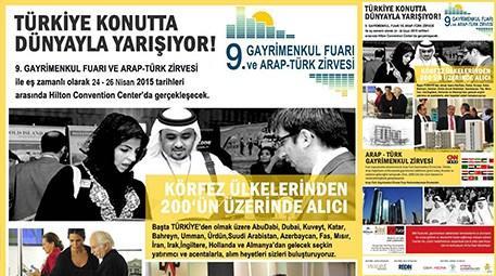 9. Gayrimenkul Fuarı ve Arap - Türk Zirvesi İstanbul'da!