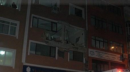 Kağıthane'de 6 katlı binada patlama!