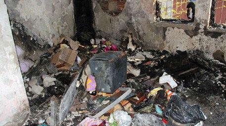 Adana'daki evi yanan gencin tüm çeyizi kül oldu!