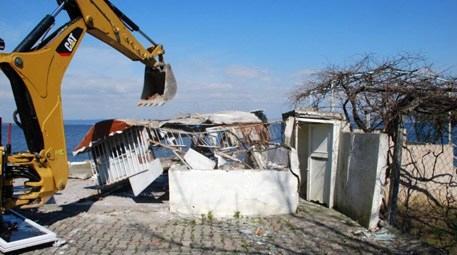 Kaçak yapı yıkım