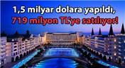 Mardan Palace Otel icralık oldu!