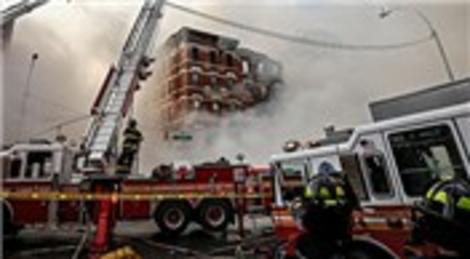 New York'ta büyük bir bina çöküşü meydana geldi!